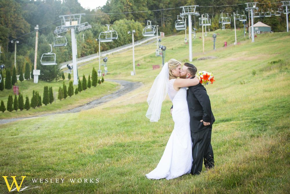 mountain wedding ceremony, wedding reception sites lehigh valley