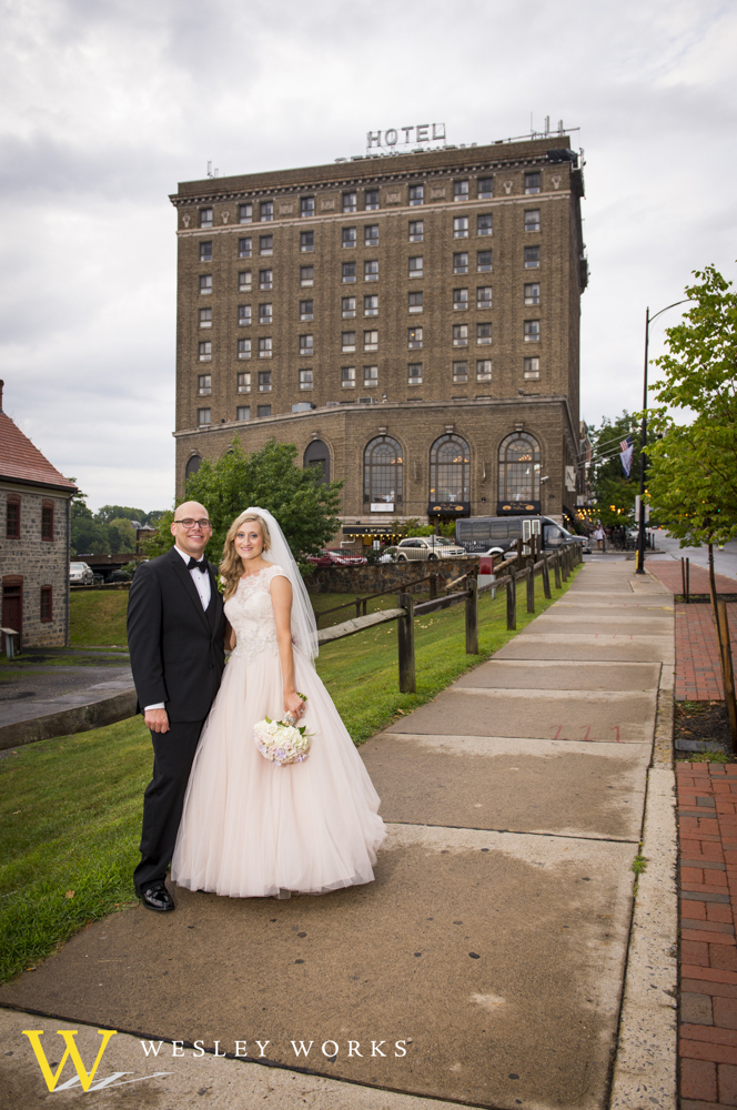 historic bethlehem wedding, bethlehem area wedding reception, bethlehem wedding venues